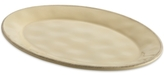 Rachael Ray Cucina Almond Cream Oval Platter