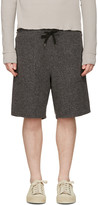 Robert Geller Black Richard Shorts