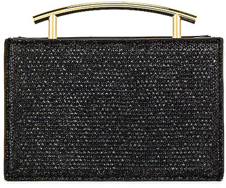 Olga Berg Sofia Hotfix Metal Handle Evening Bag