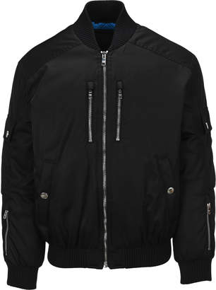 Prada Nylon Gabardine Bomber Jacket