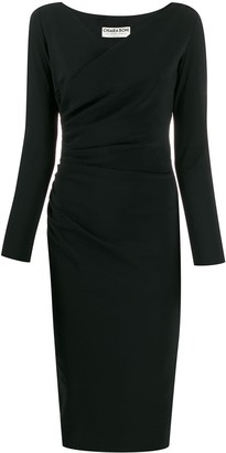 Le Petite Robe Di Chiara Boni Wrap Style Shift Dress