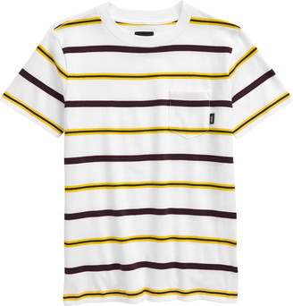 Vans Kids' Condit Stripe Pocket T-Shirt