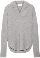 Allude Cashmere Hooded Top - Gray
