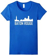 Baton Rouge Louisiana Skyline Silhouette T-Shirt