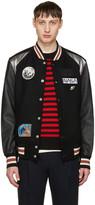 Coach 1941 Black Nasa Patches Varsity Jacket