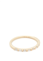 Ef Collection 14k Gold Eternity Ring