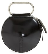 3.1 Phillip Lim Alix Leather Circle Clutch - Black