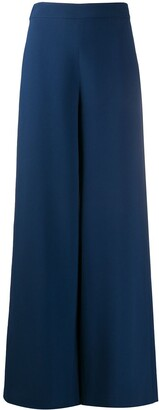 FEDERICA TOSI Mid-Rise Palazzo Trousers