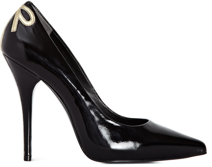 Reiss Alyona BOW BACK SHOES