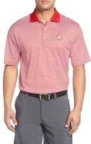 Peter Millar Men's 'Ohio State University' Classic Stripe Golf Polo