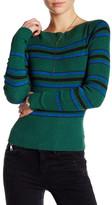 Free People Fern Stripe Crop Sweater