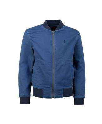 Polo Ralph Lauren Childrenswear Cotton Contrast Trim Bomber Jacket Col