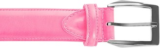 Pakerson Calci Buckle Pink Handmade Italian Leather Belt