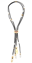 Lizzie Fortunato Hemingway Navy Tassel Necklace