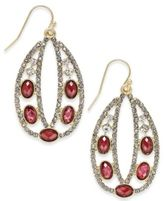 INC International Concepts Pavé Decorative Drop Earrings, Only at Macy's