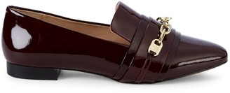 Karl Lagerfeld Paris Niki Point-Toe Patent Leather Loafers