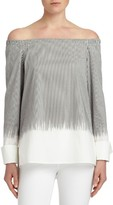 Lafayette 148 New York Women's Amy Off The Shoulder Blouse