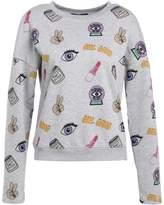 Daisy Street GIRL GANG Sweatshirt grey