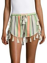 Saks Fifth Avenue Mixed Striped Shorts