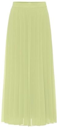 The Row Magda crApe pleated midi skirt