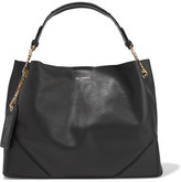Karl Lagerfeld K/slouchy Leather Tote - Black