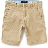 Nautica Little Boys 4-7 Flat-Front Solid Shorts