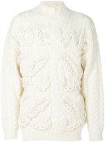 Loewe cable sweater - men - Wool - S