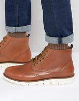 Tommy Hilfiger Case Brogue Boots