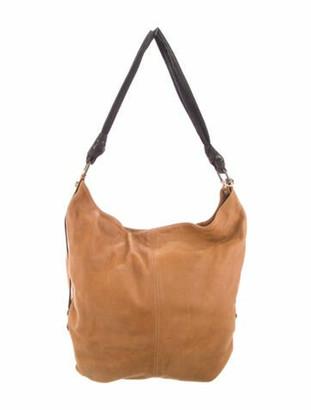Lanvin Leather Tote Bag Brown