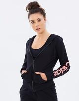 adidas Women's Essentials Linear Full Zip Hoodie
