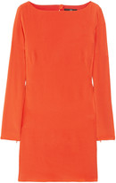 Tibi Washed-silk crepe de chine mini dress