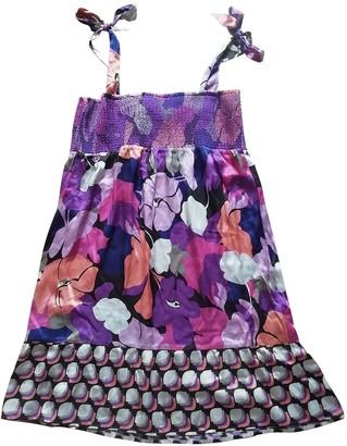 SET Multicolour Silk Dress for Women