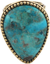 BIJOUX BAR Art Smith by BARSE Turquoise Statement Ring