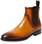 Antonio Maurizi Men's Leather Chelsea Boot