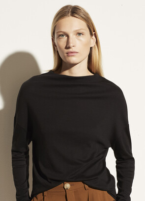 Vince Long Sleeve Drop Shoulder