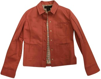 Louis Vuitton \N Orange Cotton Jacket for Women