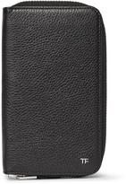 Tom Ford Full-Grain Leather Travel Wallet