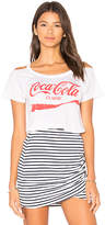 Chaser Coca-Cola Classic Tee in White. - size L (also in M,XS)