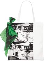 Calvin Klein Ambulance Cotton Canvas Tote Bag