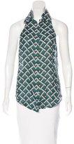 Derek Lam 10 Crosby Wool & Silk-Blend Top