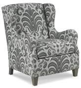 Fairfield Chair Wright Wingback Chair Fairfield Chair Body Fabric: 9177 Ecru, Leg Color: Hazelnut