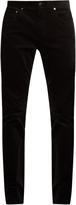 Vince 718 slim-leg cotton-corduroy trousers