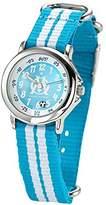 Olympique de Marseille Boys 'Watch – Analogue Quartz – Blue Dial – Bracelet – om8012 Nylon Bicolore