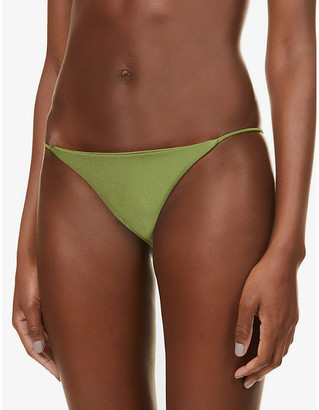JADE SWIM Bare Minimum mid-rise bikini bottoms