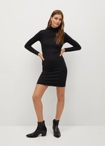 Thumbnail for your product : MANGO Fitted turtleneck dress