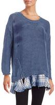 Vintage Havana Knit Tunic Sweater