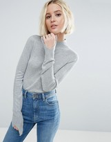 Asos Sweater With Turtleneck in Soft Yarn
