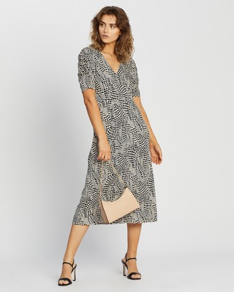 Dorothy Perkins Empire Seam Midi Split Dress
