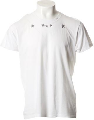 Saint Laurent White Cotton T-shirts