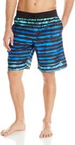 adidas Men's Acid Stripe Volley Swim Short